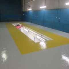 High build epoxy floor paint Gateshead Tyne and Wear