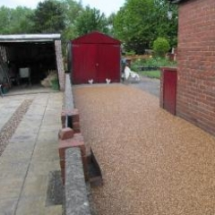 Resin exteriors gravel floor screed Ryhope Sunderland