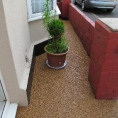 Resin Exteriors gravel floor screeds County Durham