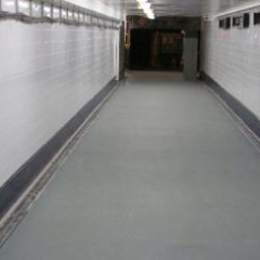 Seamless epoxy resin floor screeding North East England