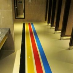 Seamless epoxy resin floors