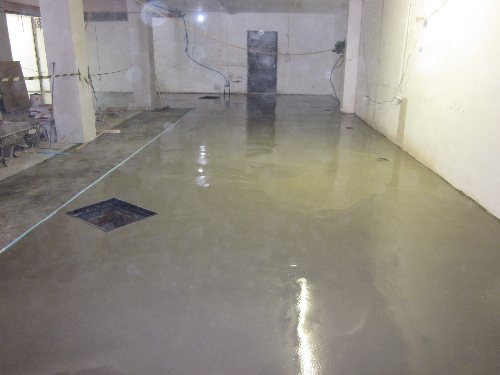Flowable cementitious floor screed Newcastle Upon Tyne
