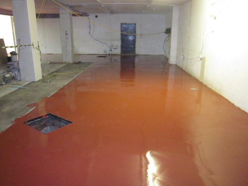 Seamless polyurethane flooring Newcastle Upon Tyne
