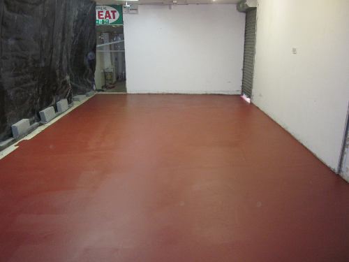 Cold store resin flooring Newcastle Upon Tyne