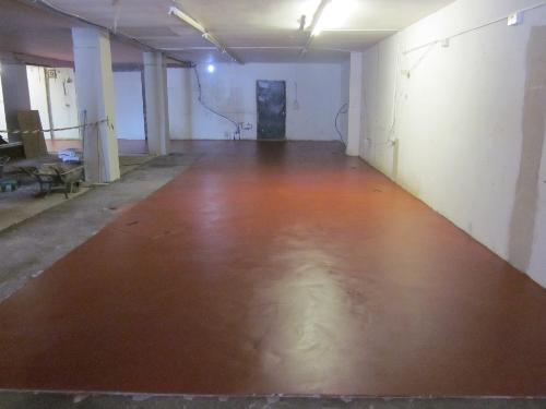 Industrial resin floors Newcastle Upon Tyne