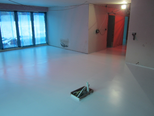 Poured polyurethane flooring North East England